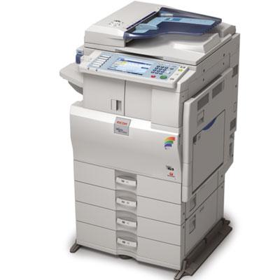 Impressora Ricoh Aficio 2051, mais uma impressora, copiadora ou multifuncional alugada pela TTG através do modelo de outsourcing e locação