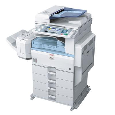 Impressora Ricoh Aficio 3351, mais uma impressora, copiadora ou multifuncional alugada pela TTG através do modelo de outsourcing e locação