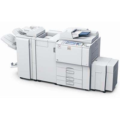 Impressora Ricoh Aficio 6001, mais uma impressora, copiadora ou multifuncional alugada pela TTG através do modelo de outsourcing e locação