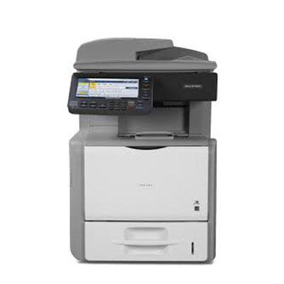 Impressora Ricoh Aficio SP 5200S, mais uma impressora, copiadora ou multifuncional alugada pela TTG através do modelo de outsourcing e locação
